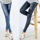 1x Hot Ladies Women Ripped Patched Jeans Slim Fit Stretch Denim Jeans Leggings