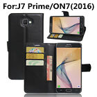For Samsung Galaxy Luxury Flip Leather Wallet Card Slot Case Stand Skin Cover