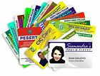 Custom Made Personalised ID Cards Printed in Full Colour on PVC Plastic Cards