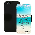 PERSONALIZED WALLET CASE FOR iPHONE 5 5S SE 6 6S 7 PLUS...