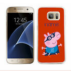 Pepper Pig name case samsung s4, s5, mini s6, s7 edge cover mobile 2 phone