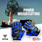 WYOX Weight Lifting Gloves Gym Training Workout body building Fitness Wrist Wrap