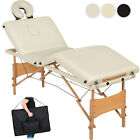 4 SECTION FOLDABLE MASSAGE TABLE BEAUTY ADJUSTABLE PORTABLE TATTOO BED