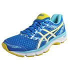 Asics Gel Excite 4 Womens Premium Running Shoes Fitness Gym Trainers Blue