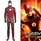 DFYM The Flash 2 Barry Allen Cosplay Costume Leather Outfit