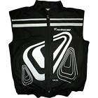 Two Zero Verso High-Vis Gilet Black Reflective Cycling Safety Jacket New