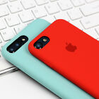 Authentic Genuine Multicolor Silicone Case Cover For Apple iphone 7/ 7 Plus