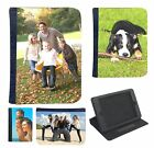 Personalised Custom Printed Picture Photo Leather Case for iPad 2 3 4 Mini + Air