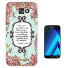 273 Floral Christian Quote Case Gel Cover For ipod iphone LG HTC Samsung S8