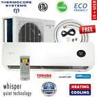 Ductless Mini Split Air Conditioner Inverter Heat Pump : 16+ SEER w/ install kit