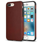 Classy Leather TPU Hybird Shockproof Anti-Allergy Case Cover for iPhone 7/6 Plus