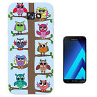 2045 Owls Sitting In Tree Cart  Case Gel Cover For ipod iphone LG HTC Samsung S8