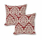 "16"" Geometric Cotton Linen Throw Pillow Case Cushion Cover Decoration Set of 2 image"