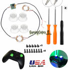 DIY Button Clear Analog Thumb Sticks Led Light For PS4 Platstation 4 Controller