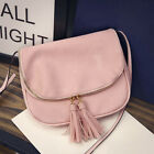 Vintage Women PU Leather Satchel Handbag Shoulder Tote Messenger Crossbody Bag