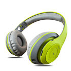 Wireless Bluetooth Stereo Headsets with Mic Super Bass HIFI Headphones 4 Colors
