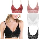 Lace Removable Pads Elastic Band Bralette Braustier Top Sheer Wireless Bras