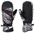 Roxy Women's Jetty Mitt DryFlight Ski Mitten Snow Gloves - AW16: True Black