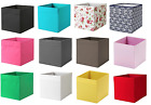 IKEA DRONA FABRIC STORAGE BOX KALLAX EXPEDITE SHELVING TOYS BOOKS CLOTHES