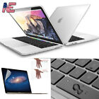 Clear Case Shell Keyboard Cover LCD For Macbook Pro Retina Air 11 12 13 15 inch
