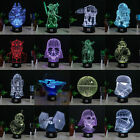 Star Wars 3D LED Night Light 7 Colour Touch Table Desk Lamp Creative Gifts New $21.99 AUD