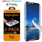 2X Real Samsung Galaxy S8 PLUS Screen Protector Tempered Glass 3D Curved  LOT