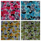 Lilies Floral Flowers Vintage Dress Cotton Fabric Rose & Hubble Sewing Quilting