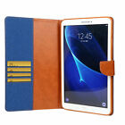For Samsung Galaxy Tab A 10.1 SM-T580 T585 Leather Smart Stand Wallet Case Cover