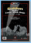 BCW: 2-mil Mylar Bags: GOLDEN COMIC Size: 500ct / CASE-LOT