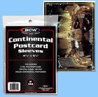 BCW: Polypro Sleeves: LARGE POSTCARD SIZE:  600ct:  6 Packs     *FREE S&H in USA