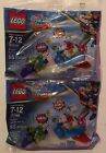 2) New Lego DC Super Hero Girls Krypto Saves the Day Set *Mint* 55 pcs. Rare!