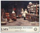 Vintage Railway POSTERS: LMS. STAFFORDSHIRE POTTERIES :  A2 & A3 (197)