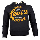Childrens Levis Amilton Hooded Navy Top