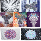 Indian Tapestry Wall Hanging Mandala Hippie Bedspread Bohemian Decor Throw A