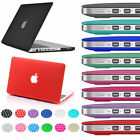 Rubberized Snap On Hard Case+Keyboard Cover MacBook Pro 13 15 Air 11 13 inch 12