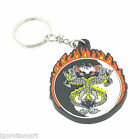 1X Key Ring Keyfob Keychains Silicon Rubber Lovely Keyrings Chain Perfect UK