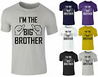 I'm The Big Brother - Childrens Funny present Kids bargain gift Boys tee T-Shirt
