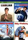 Liar Liar/Bruce Almighty/Happy Gilmore/Billy Madison (DVD, 2012, 2-Disc Set)