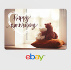 eBay Digital Gift Card - Anniversary Teddy Bears-  Fast email delivery