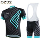 Men Funkier Cycling Clothing Short Sets Lightweight Comfortable Cycling Jersey