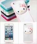 hello kitty handy cover schutzh lle tasche case iphone 5. Black Bedroom Furniture Sets. Home Design Ideas