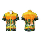 MENS HAWAIIAN SHIRT STAG BEACH HAWAII ALOHA PARTY SUMMER HOLIDAY FANCY M -4XL 1X