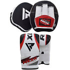 RDX Curved Focus Boxing Pads Hook Jab Bag Mitts Kick MMA With Punching Gloves