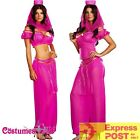 Ladies Arabian Genie Aladdin Fancy Dress Up Hens Party Costume Outfit