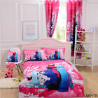 Frozen Doona Duvet Quilt Cover Set Single Size Sheet Cushion Cover Curtain Linen