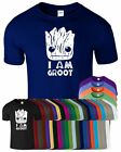 Im Groot Mens T Shirt Guardians Of The Galaxy Rocket Funny Movie Logo Tee