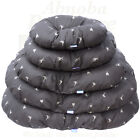 Hem & Boo Brown country oval Dog beds 5 Sizes Ideal Cushion to fit Plastic Beds