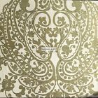 METALLIC GOLD FLORAL PAISLEY MEDALLION DUVET COVER SET KING FULL QUEEN ~ NEW