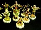 FLOWER FAIRY FIGURINES on Bases - Cicely Mary Barker - with Boxes