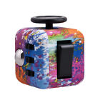 UK Fidget Cube Spinner Toy Children Desk Adults Stress Relief Cubes ADHD Camo <br/> Free Velvet Bag With Each Cube Worth £1.99